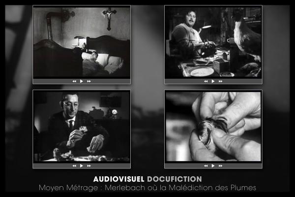 Looktrope Audiovisuel Doc Merlebach où la Malédiction des Plumes