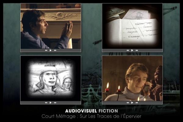 Looktrope Audiovisuel Fiction Sur les Traces de l'Epervier