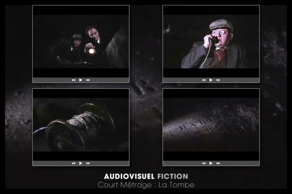 Looktrope Audiovisuel Fiction La-Tombe