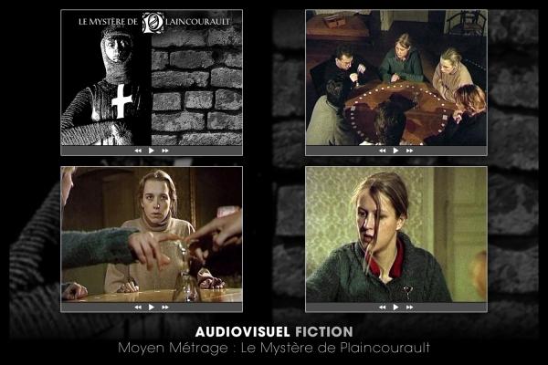 Looktrope Audiovisuel Fiction Le Mystère de Plaincourault
