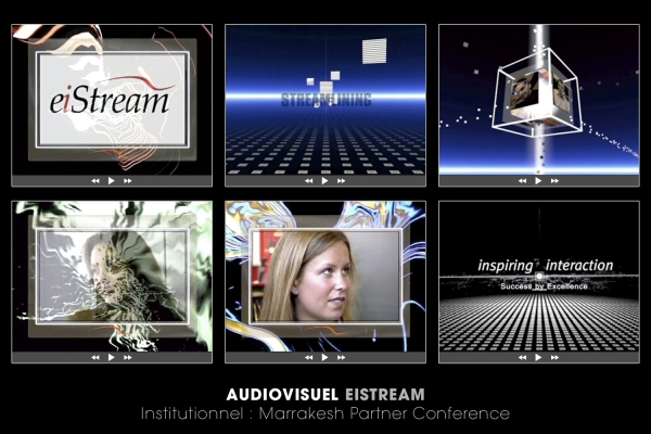 Looktrope Audiovisuel Techno Eistream Marrakesh