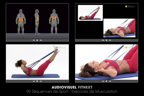 Looktrope Audiovisuel Sport Fitnext 90 Clips