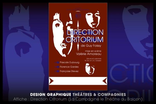 Looktrope Design Graphique Affiche Théâtre
