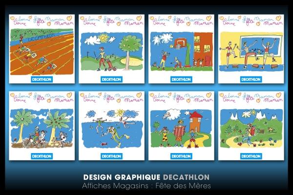 Looktrope Design Graphique Affiches Décathlon