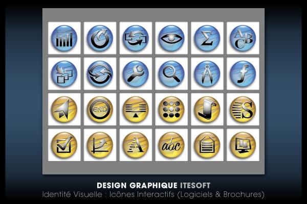 Looktrope Design Graphique Icônes Itesoft