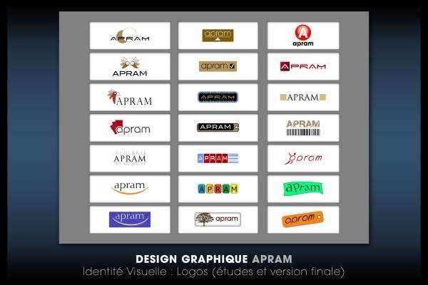 Looktrope Design Graphique Logo Apram