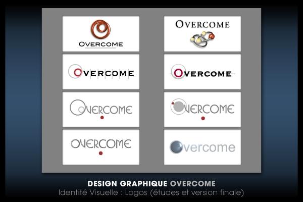 Looktrope Design Graphique Logo Overcome