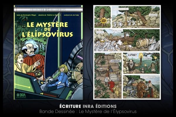 Looktrope Design Graphique Livre Le Mystère de l'Elypsovirus