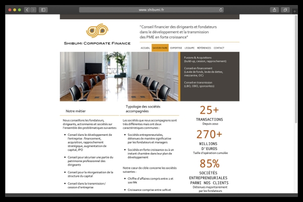 Looktrope Internet Shibumi Corporate Finance