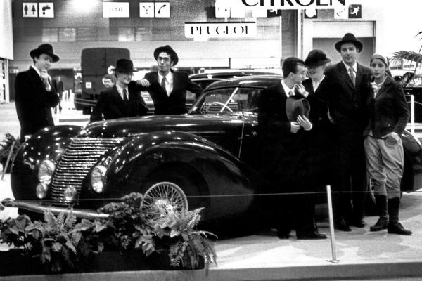 Looktrope Salon de l'Automobile Paris Porte de Versailles Comédiens