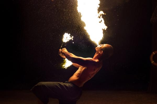 Looktrope Thaïlande Kaho Lak Jet Tours Pyrotechnie