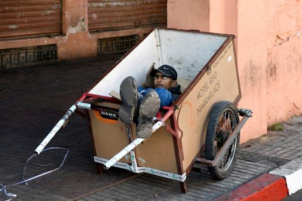 Looktrope Maroc Marrakech Homme Carriole