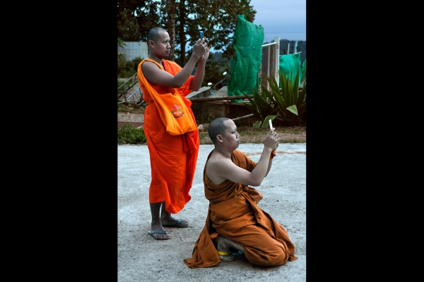 Looktrope Thaïlande Phuket Big Buddha Moines