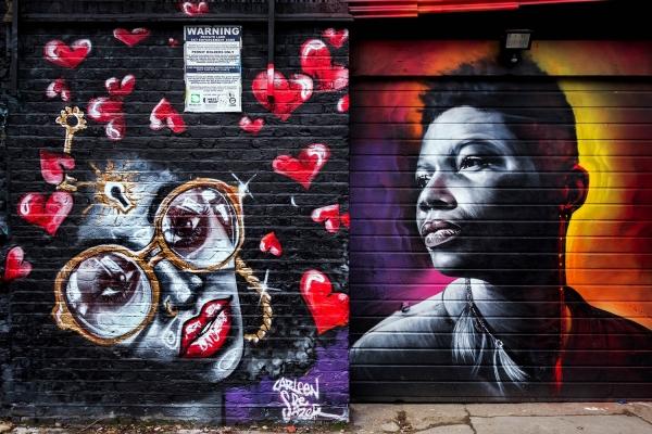 Looktrope Angleterre Londres Shoreditch Street Art