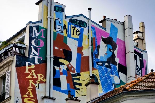 Looktrope France Paris Gaité Street Art