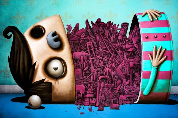 Looktrope Paris Carreau du Temple Urban Art Fair Ador & Semor