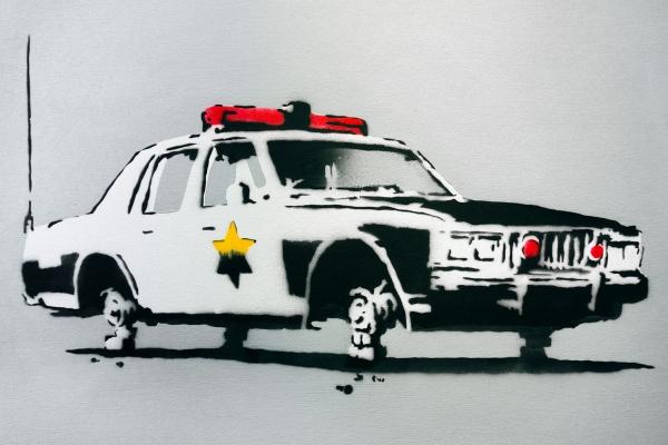 Looktrope Paris Carreau du Temple Urban Art Fair Banksy