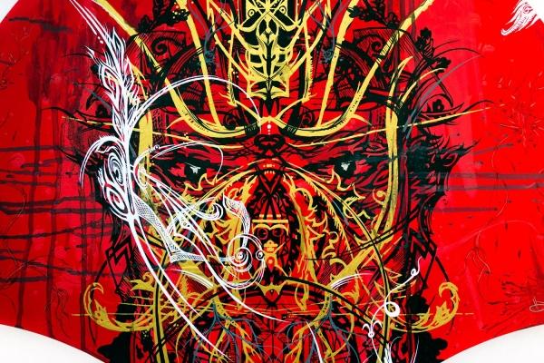 Looktrope Paris Carreau du Temple Urban Art Fair  Ned